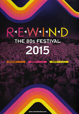 REWIND_THE 80'S FESTIVAL 2015_OFFICIAL PROGRAMME / BOOK