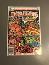 Marvel Super Hero Contest of Champions #1 Newsstand edition Marvel