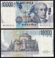 BANCONOTA Lire 10.000 Alessandro Volta Buono stato D. M. 16-10-1995