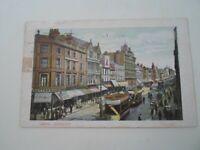 LEEDS, BRIGGATE  Franked & Stamped 1906 - Nostalgic Old Postcard   §E2234