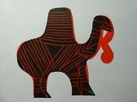 HAP GRIESHABER (1909-1981) - Kamele, Original-Holzschnitt, ca. 1960