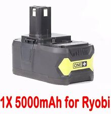 5.0AH 18V Li-ion Battery for RYOBI One Plus RB18L25 RB18L50 P108 P107 P104 P780