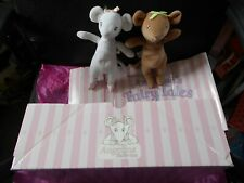 Angelina Ballerina Fairy Tales Dresses 48 items + Box +2 Dolls Large Collection