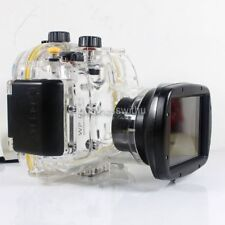 130ft Underwater Diving Waterproof Housing Case for Canon G1X Camera  WP-DC44