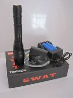 380 lumen SWAT Police Dimmer Zoom LED Flashlight Torch NEW