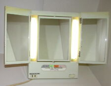 Vintage RARE FREE & EASY 3Way Magnified 4Setting #1306-NAN Lighted MakeUp Mirror