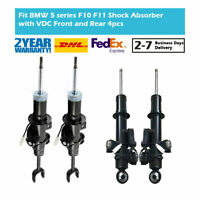 4PCS Front&Rear Air Gas Shock Absorber Strut Fit BMW 5-Series F10 F11 535i 2WD