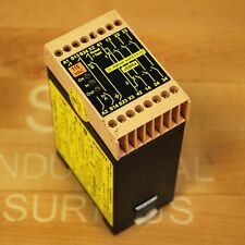 Jokab Safety JSBR4 Safety Relay, 3NO/1NC 24VDC LED Dual Channel - USED
