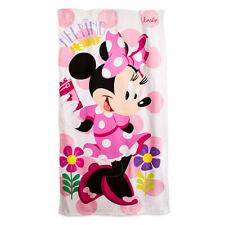 Disney Kids Minnie BathTowels Beach towels 100% Cotton 75*150cm