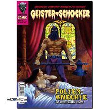 Geister- Schocker 7 Folter - Knechte Romantruhe HORROR COMIC + Hörspiel CD NEU