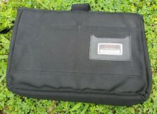 TUMI Black Ballistic Nylon Padded Ipad/Tablet Sleeve Pouch Case Cover