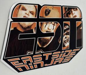 "Eastside Ninjas - ESN 6"" Sticker twiztid blaze ya dead homie anybody kills MNE"