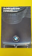 BMW 3 5 7 6 series 735i 635 CSi 535i 325i car sales brochure catalogue 1986 MINT