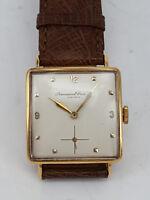 IWC Herrenuhr cal. 62 in 18K (750) Gold. um ca.1950