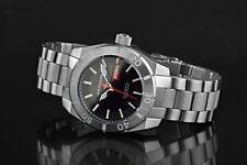 ARAGON Regeneron DiveMaster 45mm Black Dial SII NE36A AUTOMATIC Watch A368BLK