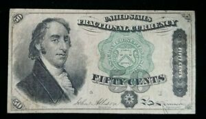 Act of June 30th 1864 50 Cents Fractional Currency