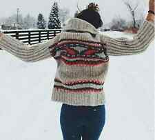 NEW Free People Beige & Red SOFT! Alpaca Soft Touch Caravelle Sweater $198 XS