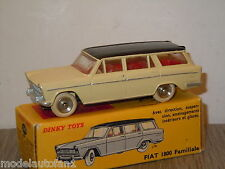 Fiat 1800 Familiale van Dinky Toys France 548 in Box *10137