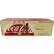 Coca-Cola Vanilla Coke 12-Pack Soft Drinks Soda 12 fl oz 12-Pack Cans