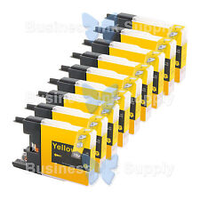 9 YELLOW LC71 LC75 Compatible Ink Cartirdge for BROTHER Printer MFC-J435W LC75Y