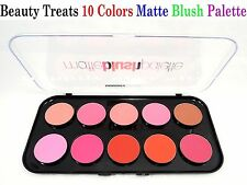 Beauty Treats Matte Blush Palette *Highly Pigmented 10 Colors Matte Blusher*