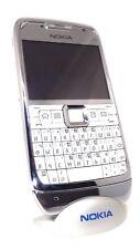 Nokia e71 white and silver russian Bulgarian keyboard new original unlocked swap