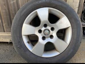 "Skoda Octavia Alloy Wheel 15"" With Free Tyre 205/60/15 2004-2013"