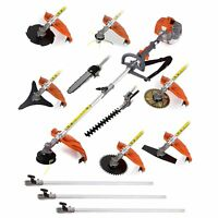 Multifunctional 75cc engine 12 in 1 Petrol Hedge Trimmer Chainsaw brushcutter