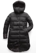 The North Face Womens Cryos Parka Black L 800 Fill Goose Down Winter Coat $500