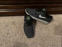 Men's Nike SB Air Max Stefan Janoski-Black/Green/Gray-Sz.10.5-Excellent