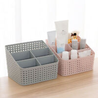 uk Storage Organizer Box Drawer Make Up Brush Holder Storage Pots Case Useful