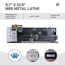 87 236 Metal Lathe Bench 1100w 15hp 5 Tools Brushless Motor Upgraded Mini