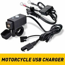 Waterproof Motorcycle Bike Sae to Dual Usb Charger Cable Adapter for Gps Phone