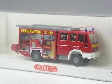 Top: Wiking IVECO EURO FIRE VIGILI DEL FUOCO LF 16/12 colorato con squadra in scatola originale