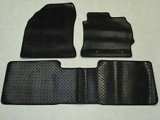 Toyota Auris 2013-on Fully Tailored Deluxe RUBBER Car Mats in Black 3 Piece
