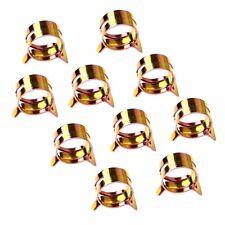 "Low Pressure 10 PCS 10mm 3/8"" Spring clip for Fuel / Silicone Vacuum Hose Clamp"