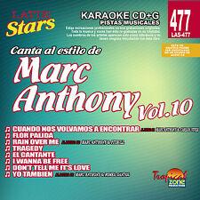 Karaoke Latin Stars 477 Marc Anthony Vol.10