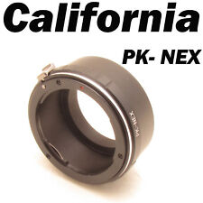 PK to NEX Pentax K Lens Sony E Mount Adapter Ring EX-5N VG20 NEX-3 F5 7 C3 5N 5R
