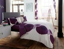 Solo Premium Modern Duvet Covers Quilt Covers Reversible Bedding Sets - Purple