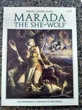 Marada the She Wolf. Marvel Graphic Novel. 1st Print. 1985. VF+