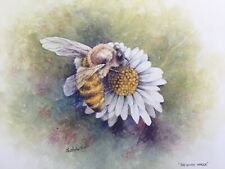 The Honey  Bee. Original watercolour