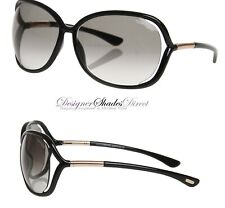 Tom Ford Butterfly Sunglasses TF0076 RAQUEL 199 Black Women Square FT0076 CutOut