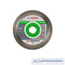 Bosch Disque à Tronçonner Diamanté 125mm 125 MM Meilleur pour Céramique Ec Turbo