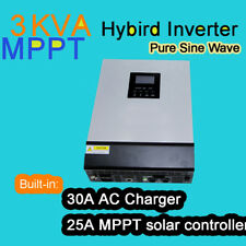 Hot selling 3KVA solar inverter with mppt solar charger controller
