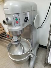 Hobart H600T 60 Qt Mixer - 3 Ph 208V - Stainless Bowl + Hook , Working