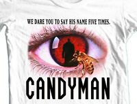 Candyman T-shirt retro horror movie 80s slasher films 100% cotton graphic tee