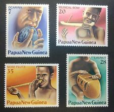 PAPUA-NEW GUINEA STAMPS MNH - Musical instruments, 1979, **