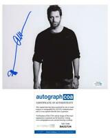 "Peter Hermann ""Younger"" AUTOGRAPH Signed 'Charles Brooks' 8x10 Photo B ACOA"