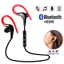 Wireless Bluetooth Handsfree Earphone Earbud Headset For Samsung Android iPhone