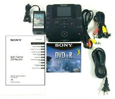 Sony VRDMC6 DVDirect Multi-Function DVD Recorder VRD-MC6 + Manual Tested 👍